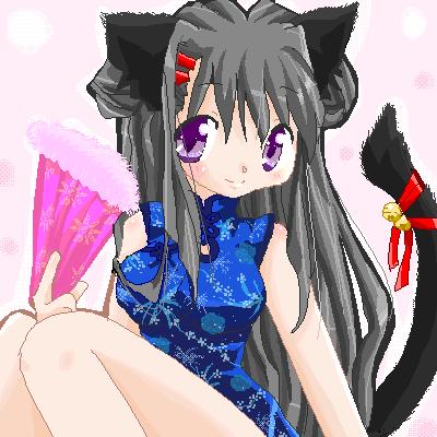 猫耳チャイナ娘